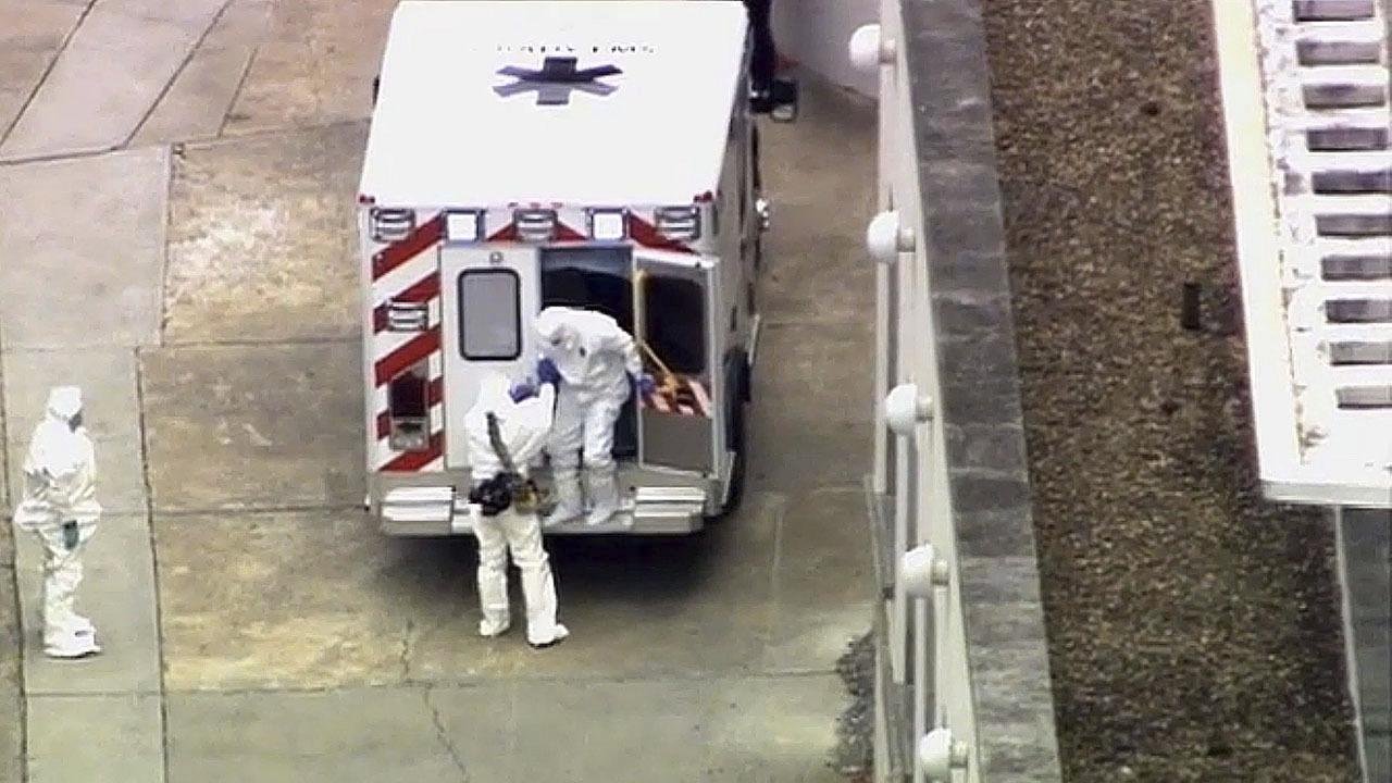 First Ebola Patient Arrives in U.S.