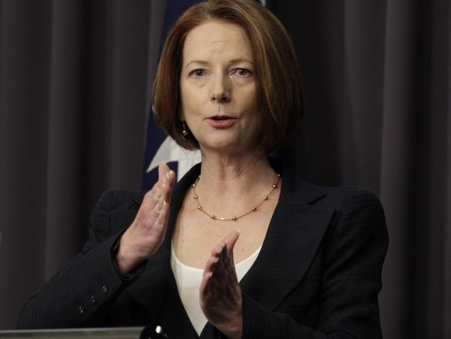 Former prime minister Julia Gillard was constantly judged over her family and marriage status.