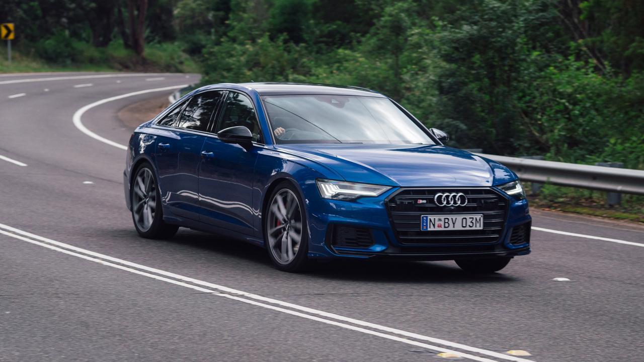 The Audi S6 is surprisingly agile when cornering.