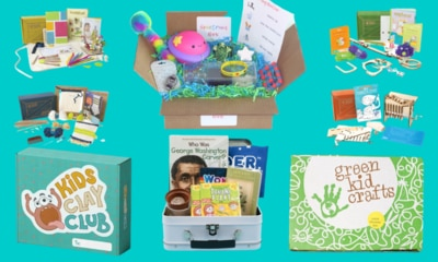 Stuck for a kids' present? Try a subscription box