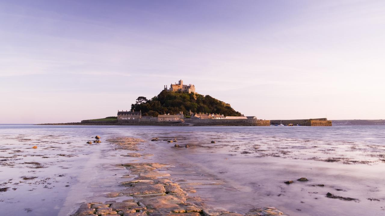St Michael's Mount is a quintessential medieval castle in a poetic coastal setting.