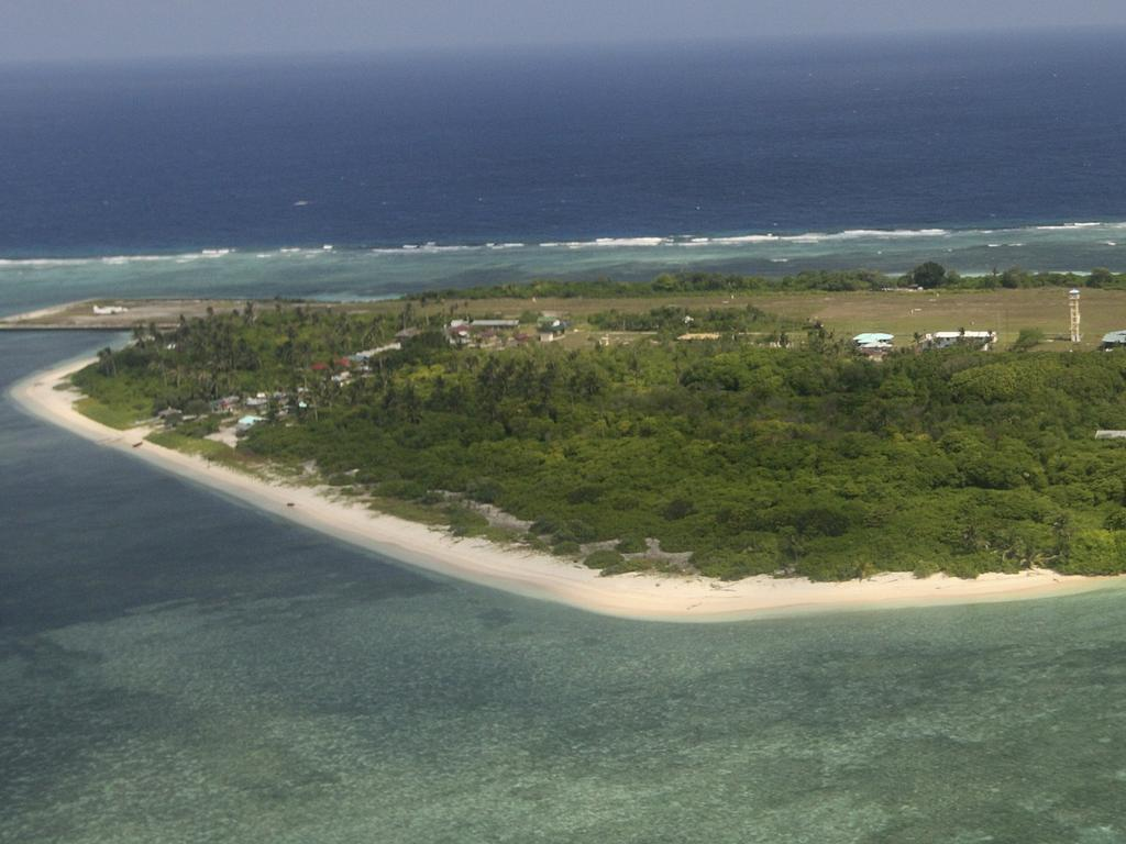 Pag-asa (Thitu)  Island, part of the disputed Spratly group of islands, in the South China Sea located off the coast of western Philippines. Picture: AP