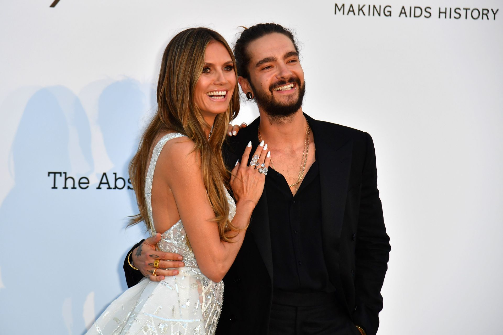 Heidi Klum wore two bridal gowns at her Capri wedding to Tom Kaulitz