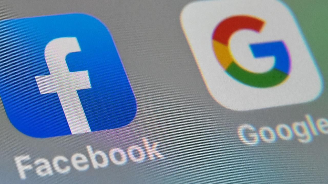 The federal government is in a stoush with both Facebook and Google. Picture: Denis Charlet / AFP