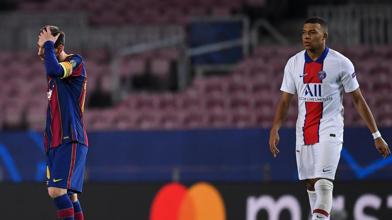 Kylian Mbappe made magic happen against Lionel Messi.