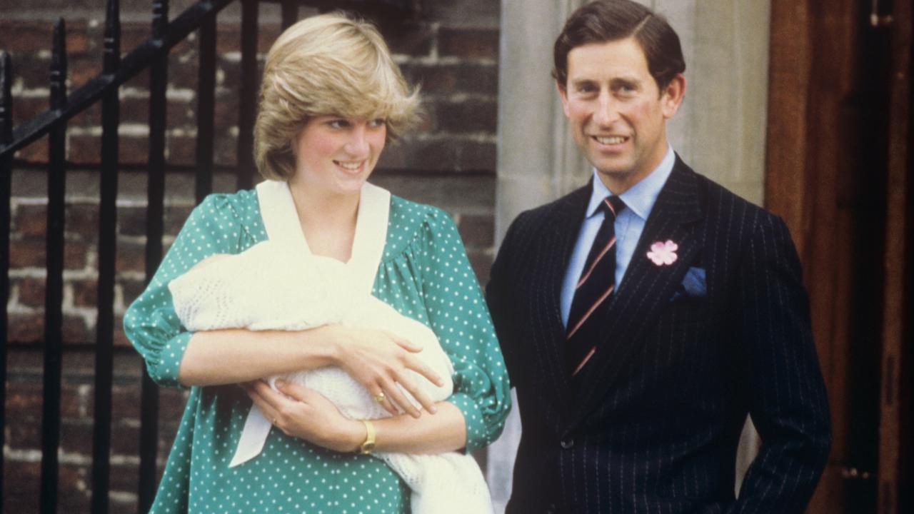 Princess Diana had struggled with her mental health before Prince William was born. Picture: Getty Images.