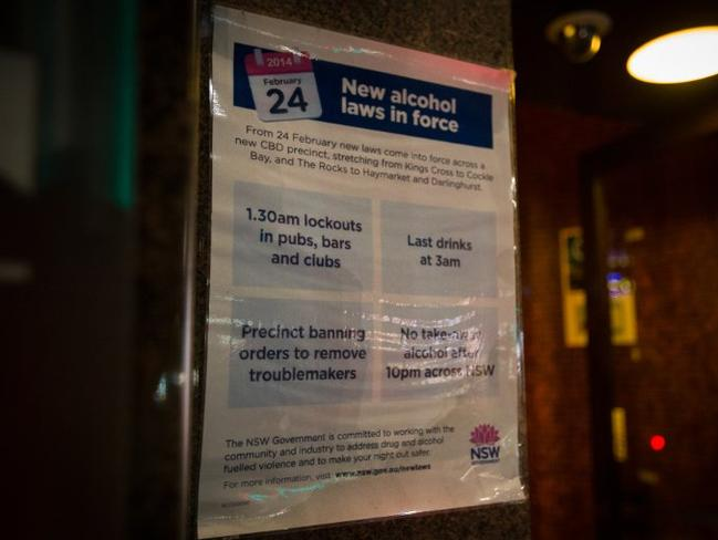 When new alcohol laws were enforced, businesses were forced out. Picture: Matt Barrie