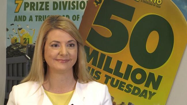 $50 million Oz Lotto draw drives frenzy among Aussie wannabe winners