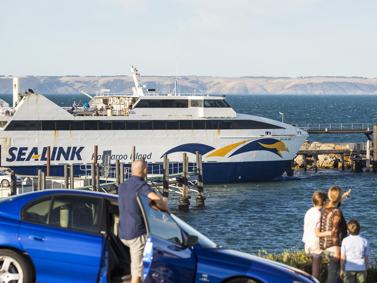 Supplied Editorial Sealink ferry which goes to Kangaroo Island. Picture: Supplied for Best Weekend Kangaroo Island O