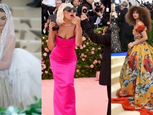The theme for 2020's Met Gala has been announced. Image: Getty