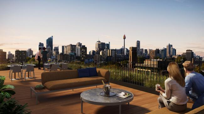 25hours Sydney (set to open at the end of 2022) is the second 25hours Hotel to be announced in Australia, after plans for 25hours Melbourne were revealed last year. These will join the group of other 25hours contemporary boutique hotels in Berlin, Dusseldorf, Frankfurt, Hamburg, Cologne, Munich, Paris, Vienna and Zurich, with Dubai and Florence hotels slated to also open in 2021. One of the major drawcards of the Sydney hotel will be a rooftop bar, overlooking Oxford Street and Sydney Harbour. Picture: Artist Impression © Accor