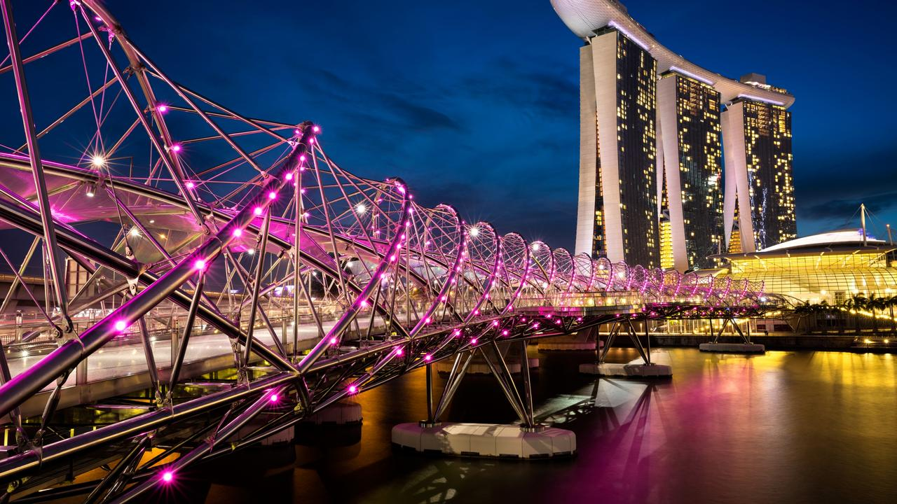 Marina Bay is a sight to behold.