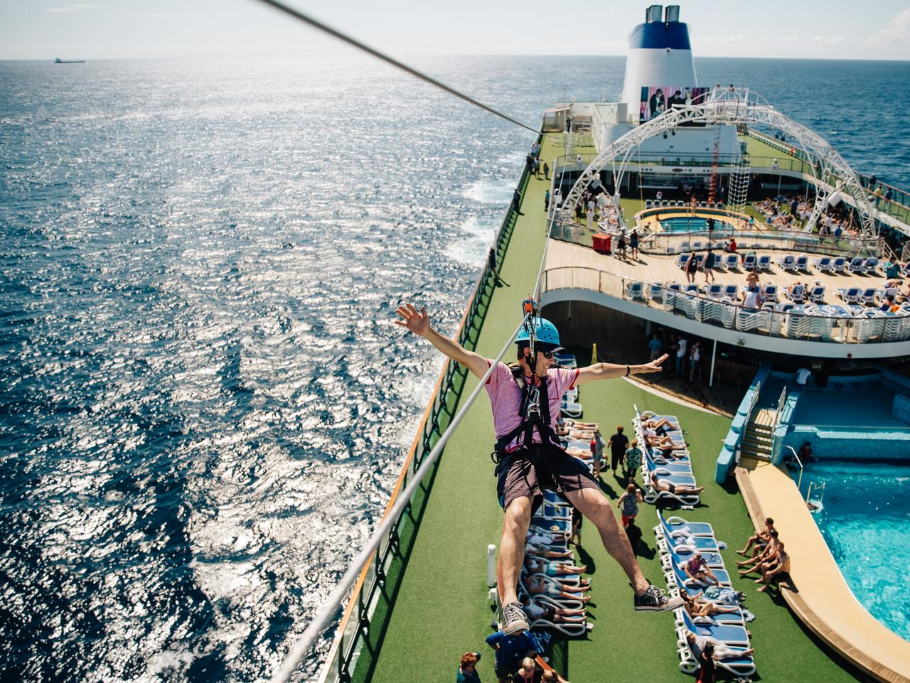 ESCAPE: Cruise cover story, Christine Retschlag, Oct 1 -  Pacific Pearl, P&O Cruise. Picture: Supplied