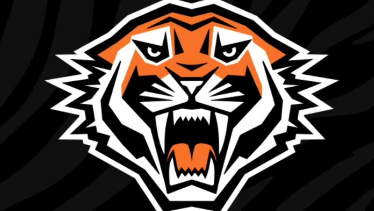 The Wests Tigers' new logo. Picture: @WestsTigers on Twitter