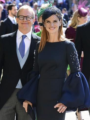 Meghan Markle's's Suits co-star, Sarah Rafferty. Picture: AP