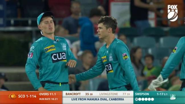 Swepson snags breakthrough wicket for Heat