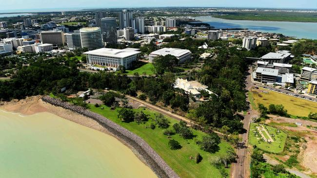 Darwin: Cyclones, crocodiles and high costs. Picture: Justin Kennedy