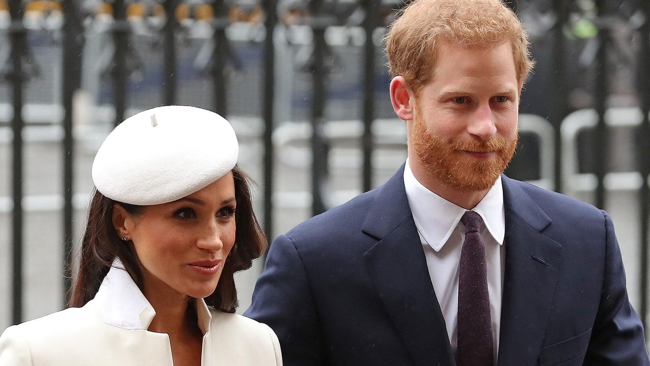 A royal author has speculated Meghan probably won't join Prince Harry in the UK this year. Picture: AFP