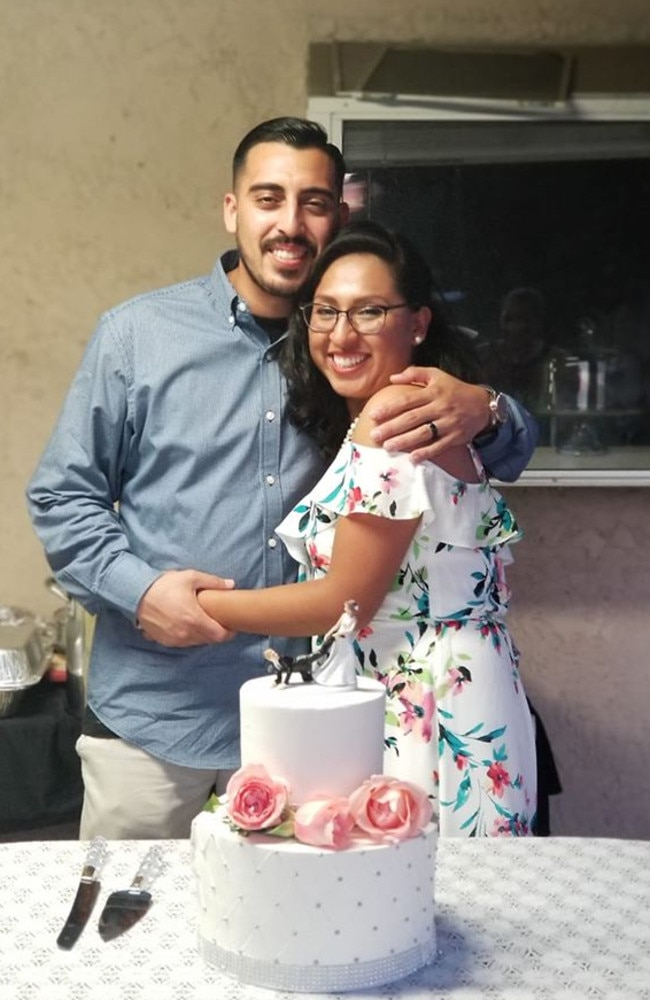 Hours after saying 'I do', two brothers allegedly attacked the 30-year-old groom, leaving him with blunt force trauma to his head. Picture: Facebook