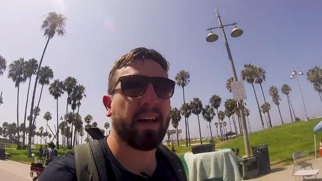 News.com.au Tech Editor Matt Dunn does Venice Beach in one day