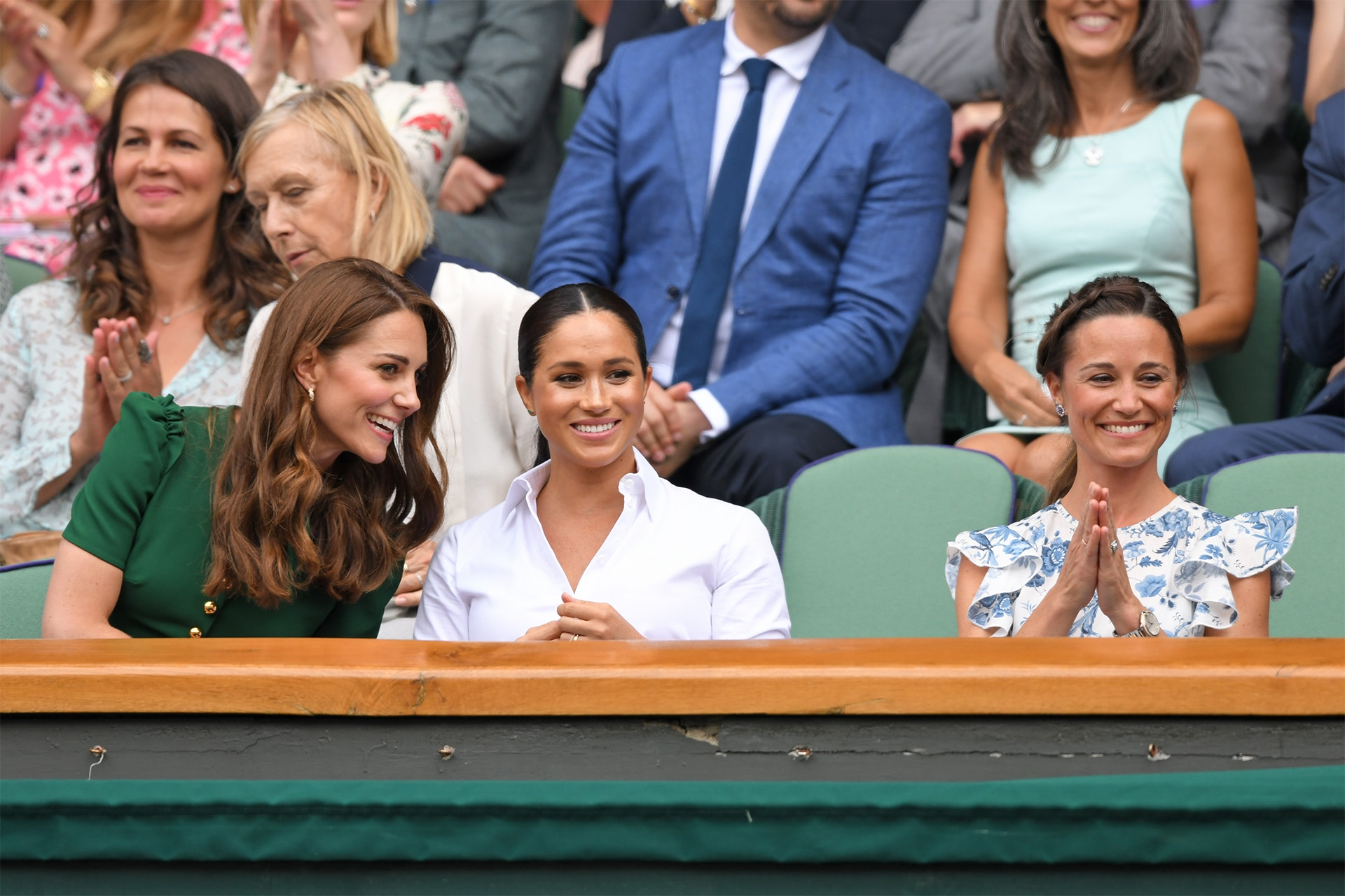 Kate Middleton nails her Wimbledon looks with Meghan Markle, Pippa Middleton and Prince William
