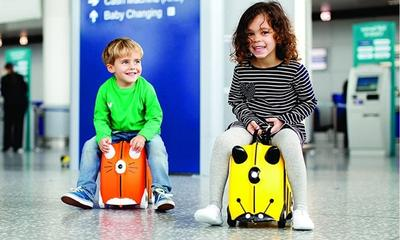 The suitcase that makes travelling with kids a breeze