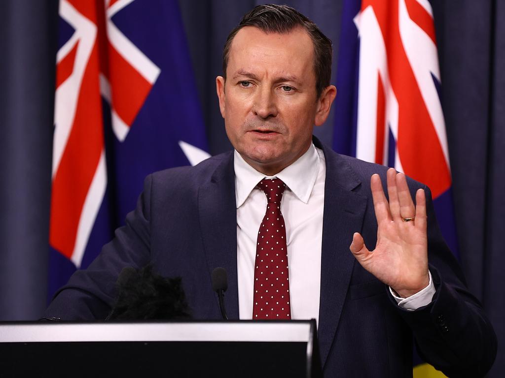 WA Premier Mark McGowan said the Treasurer's comments were odd. Picture: Paul Kane/Getty Images