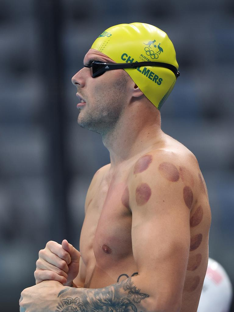 Kyle Chalmers of Team Australia. Picture: Tom Pennington/Getty Images