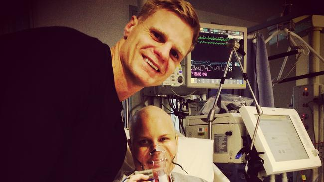 Nick Riewoldt and Maddie Riewoldt.