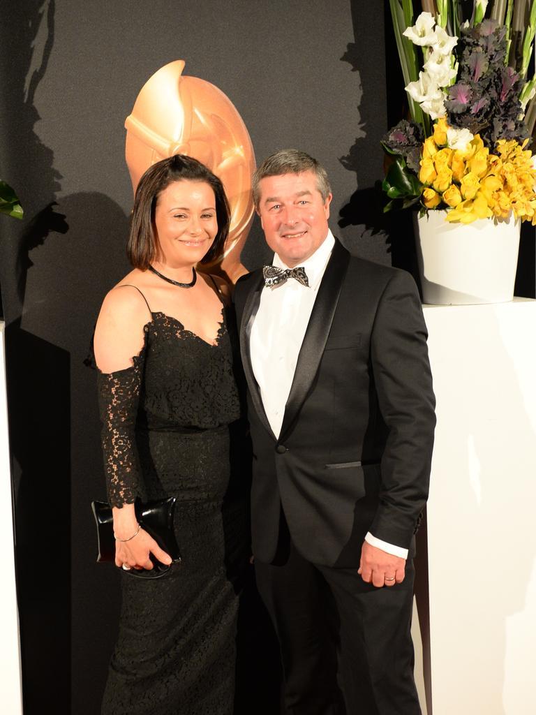 Darren Beadman with wife Kim.