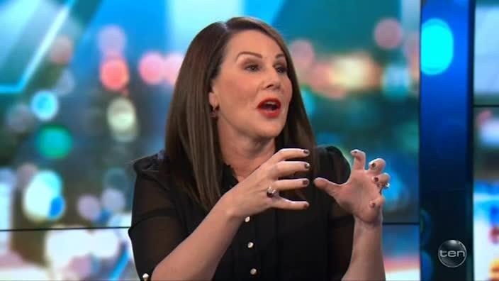 Julia Morris' experience trying on young people clothing