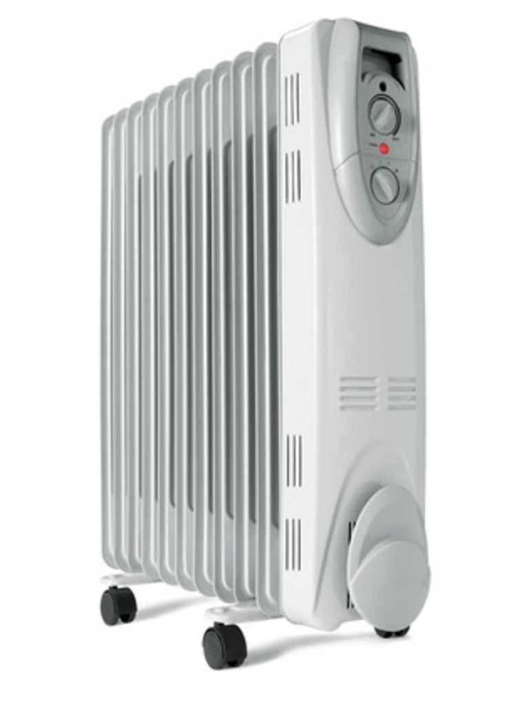 The Anko 11 Fin Oil Heater costs $55.