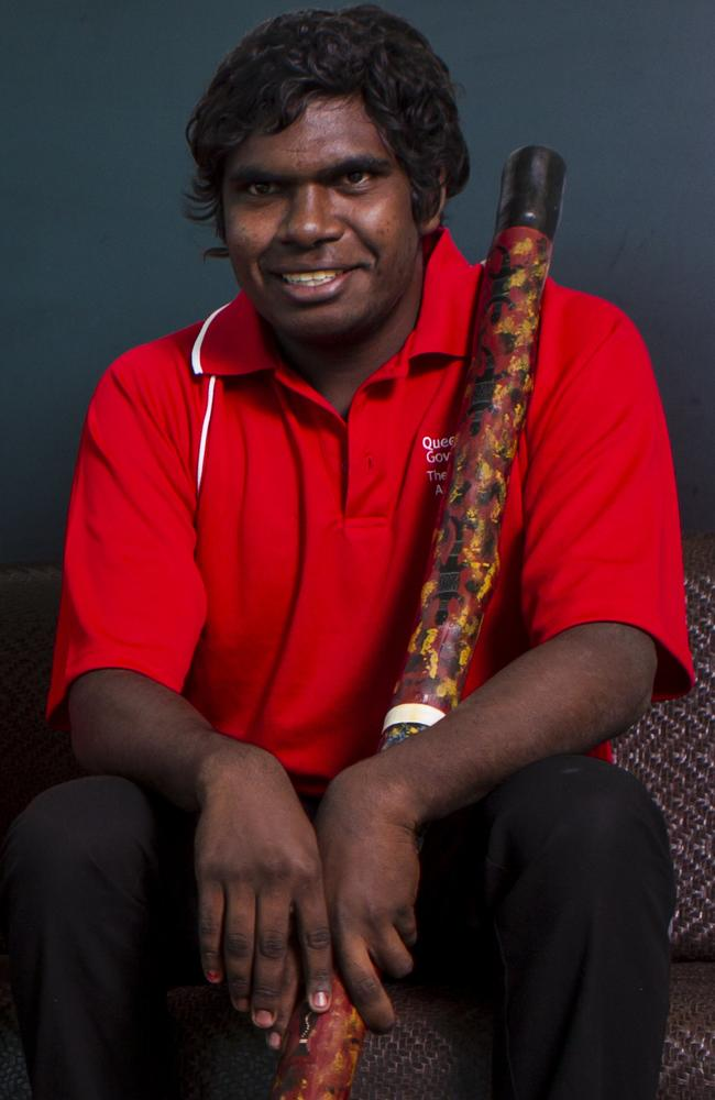 Pride of Australia young leader nominee, Spinifex State College student Elijah Douglas of Doomadgee.