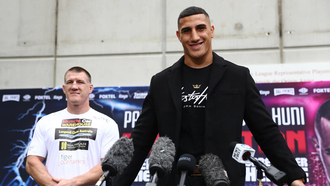 Justis Huni's trainer and father, Rocki, says the fight against Paul Gallen won't go the distance: Getty Images