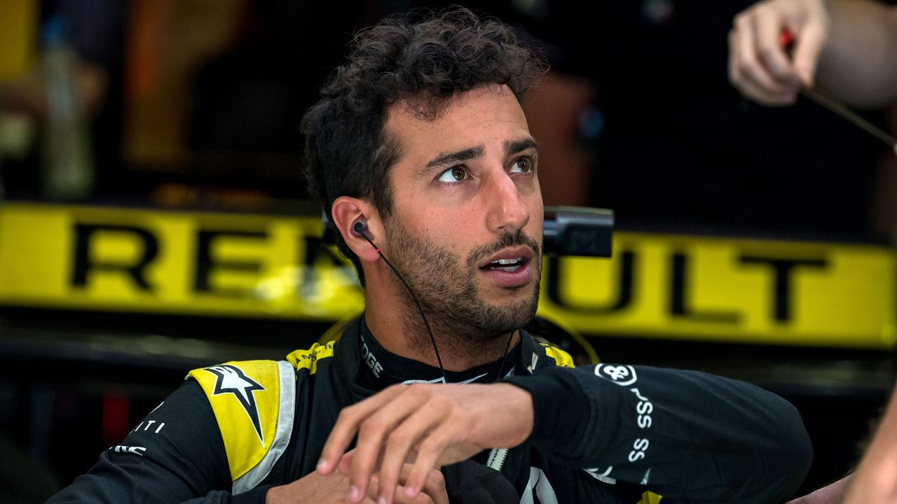 Renault's Australian driver Daniel Ricciardo suffered another crushing result as his disappointing maiden season with the French Formula One team continues.