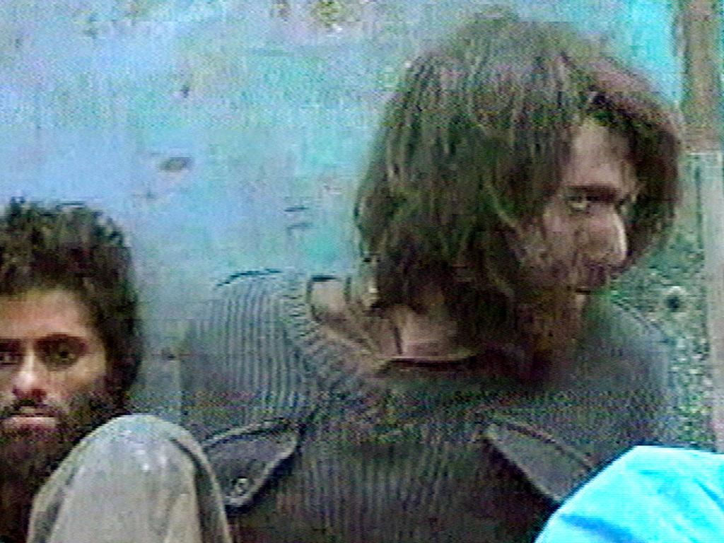 John Walker Lindh pictured around the time of his capture in December 2001. Picture: AP