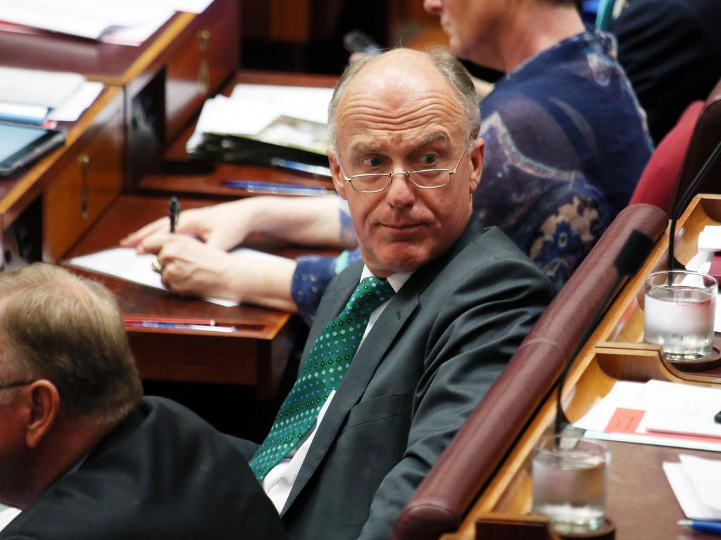 Liberal Senator Eric Abetz told NCA NewsWire 'the similarities with the 1936 Olympics and the emerging 2022 (Winter) Olympics are too big (to ignore)'. Picture: Gary Ramage