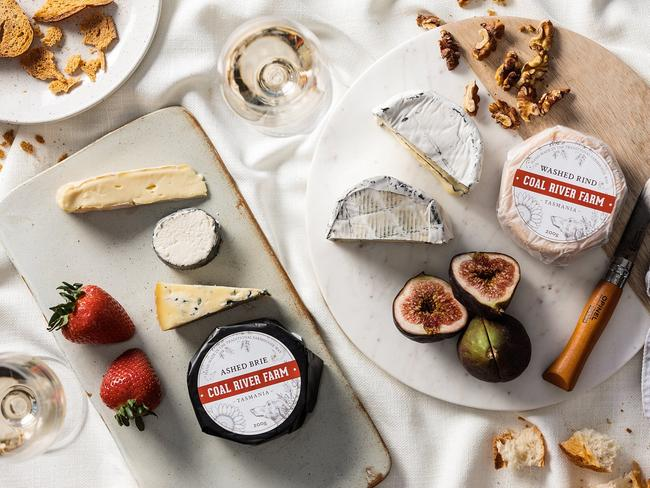 10. EAT YOUR WAY THROUGH COAL RIVER FARM If you're looking for the best brie in Tasmania, Coal River Farm is place for you. They've got a fantastic selection of artisanal cheeses and chocolates waiting to be eaten.