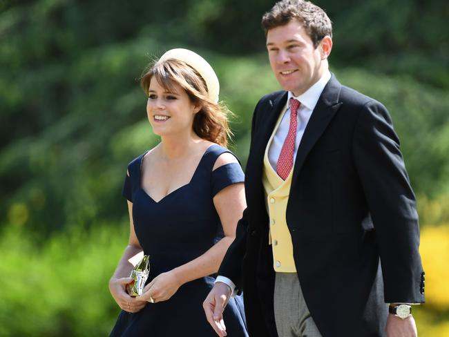 Princess Eugenie will marry Jack Brooksbank in October. Picture: AFP