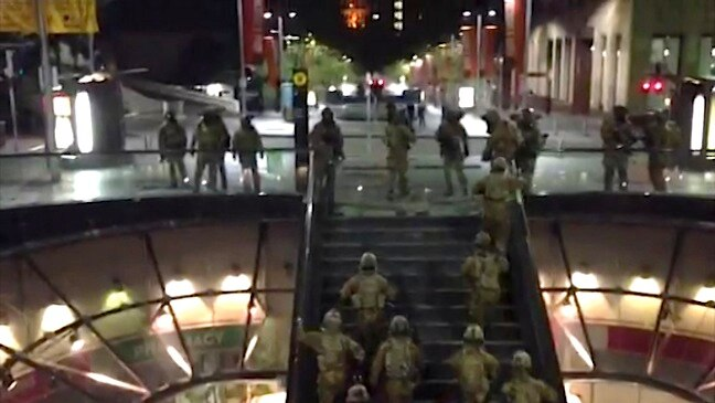 Counter terrorism exercises halts Sydney CBD