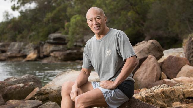 Charlie Teo: Neurosurgeon goes nude for Sydney skinny