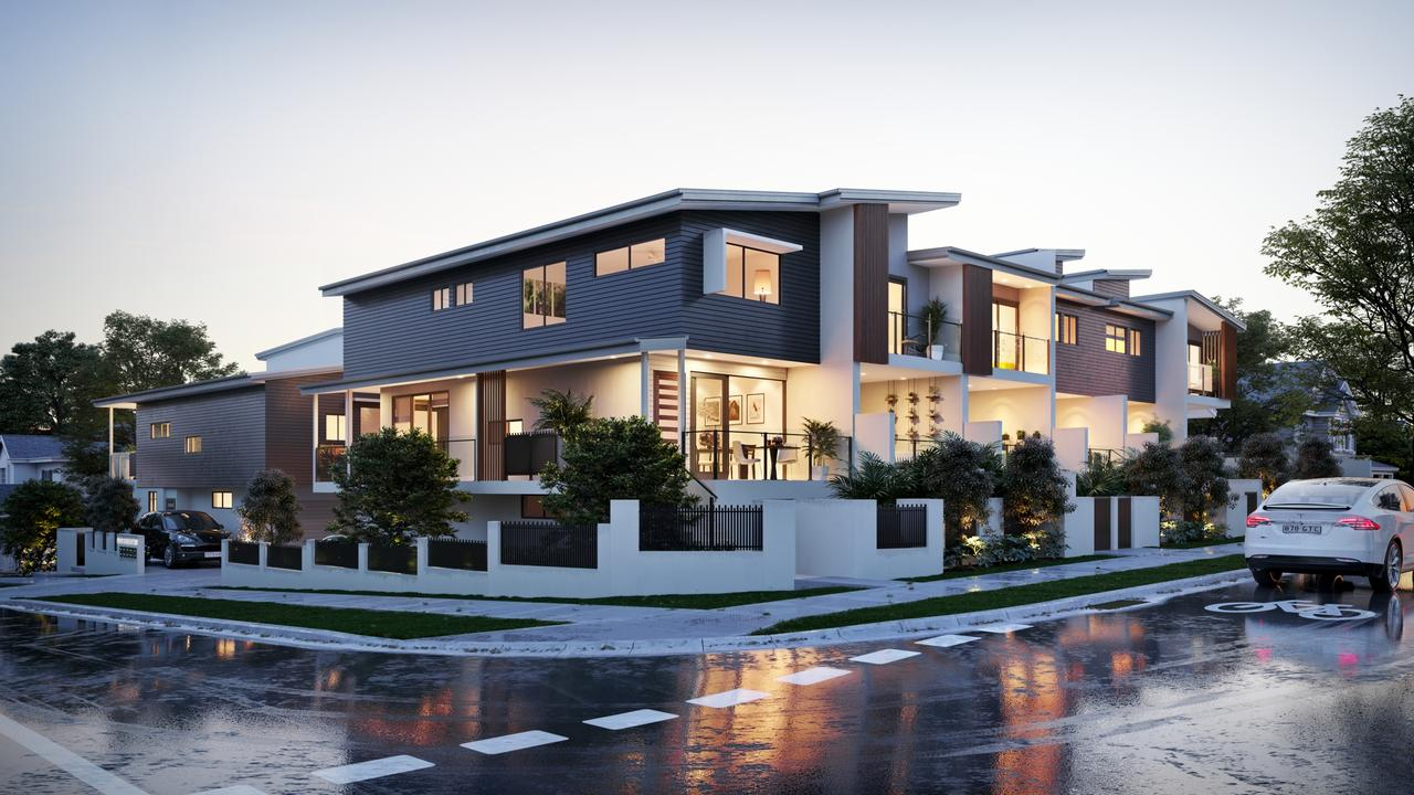 Named after its expansive city views and set in a leafy Greenslopes enclave, 'Vista on the Green' is raising the benchmark for luxury townhouse living.