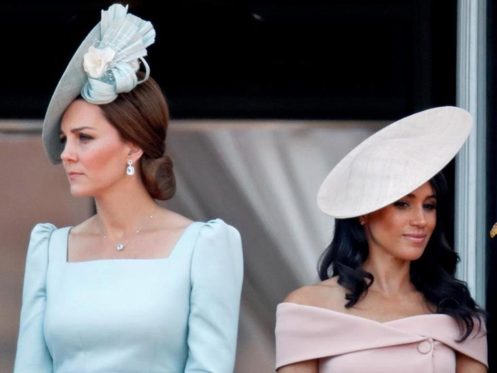 Much has been made of the Kate Middleton/Meghan Markle feud, but Meghan's real adversary is far more powerful. Picture: Getty