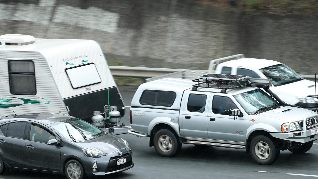 Crashes are causing major delays for Easter holiday-makers. Picture: Liam Kidston