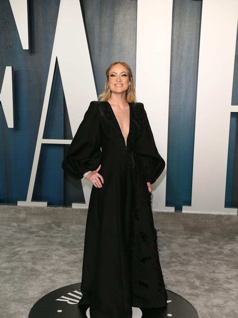 Olivia Wilde attends the 2020 Vanity Fair Oscar Party on February 9, 2020. Picture: Jean-Baptiste Lacroix/AFP