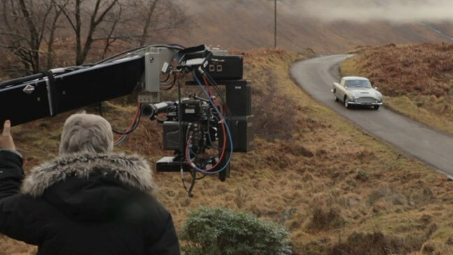 The Aston Martin DB5 in Skyfall