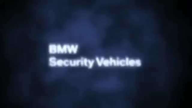 BMW High Security Vehicles