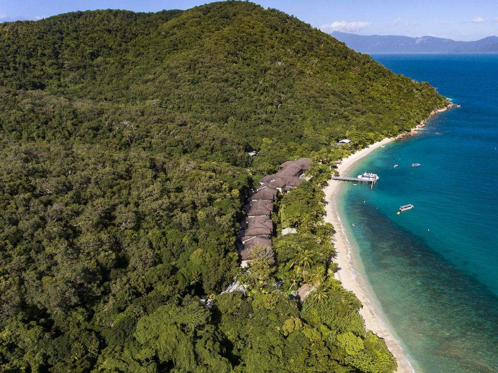 The lush island, less than an hour from Cairns.