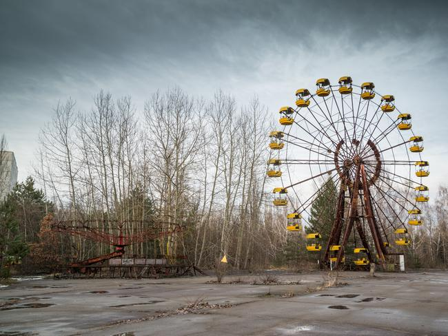 10. CHERNOBYL, UKRAINE It has been a morbid offbeat tourist destination for decades, but since the release of HBO's TV miniseries depicting the events of the nuclear disaster that occurred here, visitors numbers are up 40 per cent. Tours here take in the neighbouring eerie abandoned ghost town of Pripyat (pictured) as well as the metal dome covering the now infamous Reactor Number 4.
