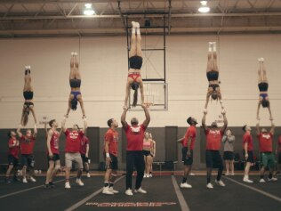 Meet your new obsession, the Navarro cheer team. Image: Netflix